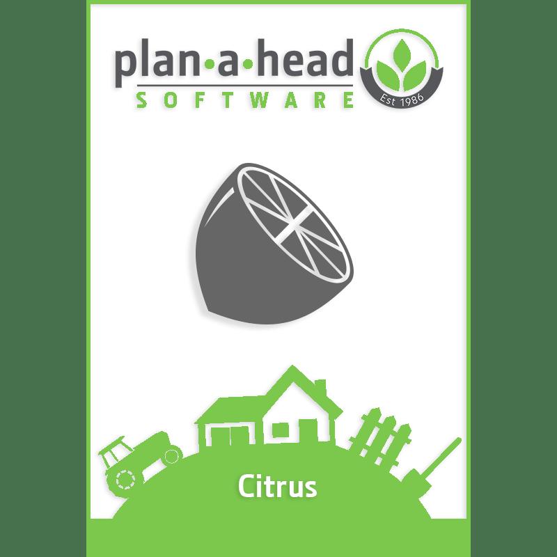 Plan-A-Head Citrus Software