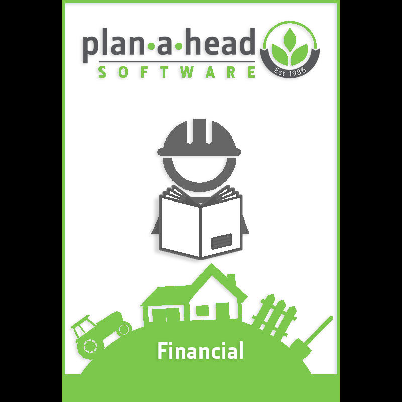Plan-A-Head Financial Software