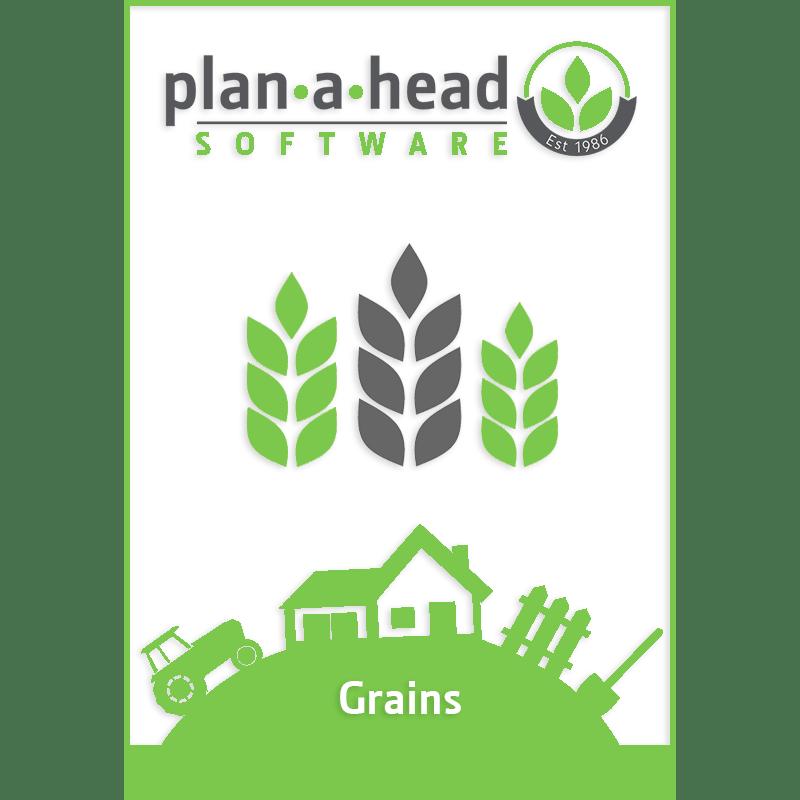 Plan-A-Head Grain Software