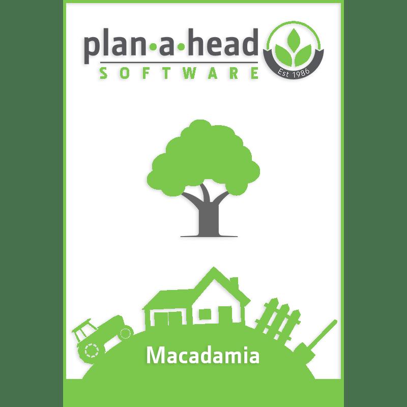 Plan-A-Head Macadamia Software